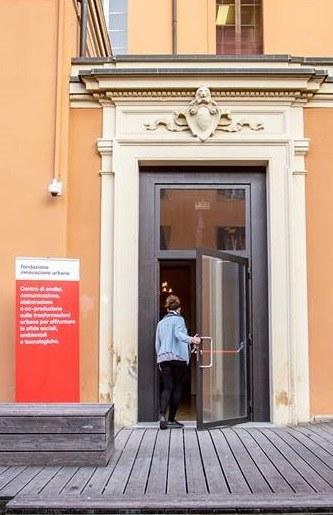 Entrata della Fondazione