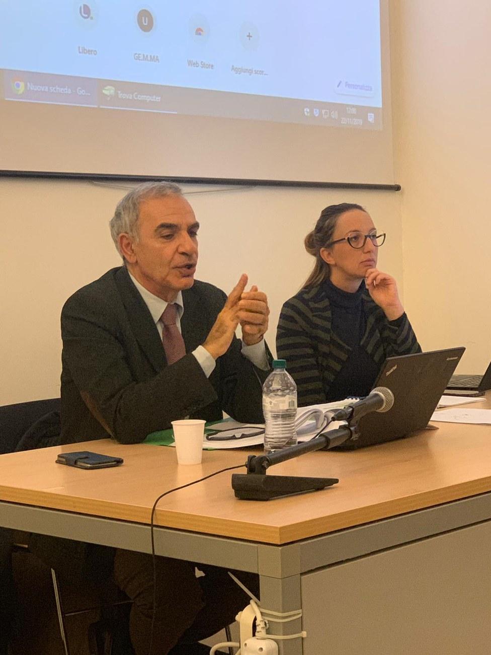 Dott. Francesco Menditto - Avv. Stefania Di Buccio
